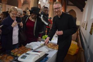 Fr Stuart's Birthday At Church - 7th May 2017