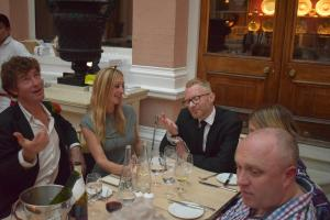 Fr Stuart's Birthday At The Wallace Restaurant - 5th May 2017