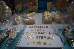 Karvalli's 1st Birthday and Christening