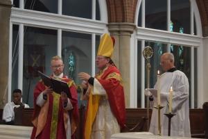 Fr Stuart and Bishop Norman SSC