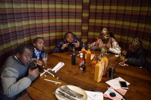 Nando's with the Servers