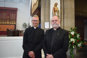 Fr Stuart and Fr Reg