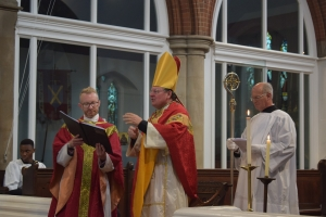 Fr Stuart and Bishop Norman SSC